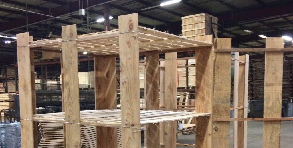 Nursery Wirebound Crates